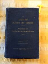 More details for freemasons calendar & directory cumberland & westmorland  1927 , scarce book