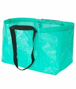 NEW IKEA Slukis Blue Large Reusable Laundry Tote Shopping Bag Limited Edition