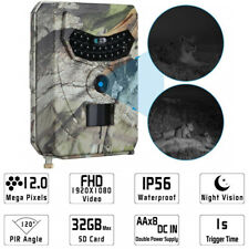 Infrared Night Vision HD 1080P IR 12MP 120 Degree Trail Security Hunting Camera