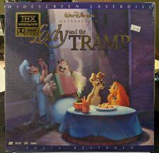 Lady and The Tramp Laserdisc Walt Disney Widescreen SEALED