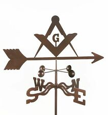 Masons Weathervane - Masonic - Freemasons - Mason Vane - with Choice of Mount