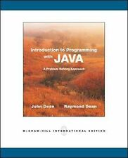 Introduction to Programming with Java by Dean, John, Dean, Ray