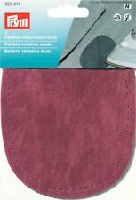 Prym Sew-On Imitation Suede Elbow/Knee Patches Dark Red 929374