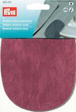 Prym Sew-On Imitation Suede Elbow/Knee Patches Dark Red 929374
