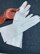 Women's Vintage Leather Driving Gloves 7.5 Light Tan So Soft