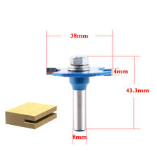 """1pc 8mm Shank """"T"""" Type Biscuit Joint Slot Cutter Jointing/Slotting Router Bit"""