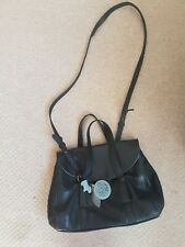 Radley Black Medium Handbag Cross Body Or Grab Handle
