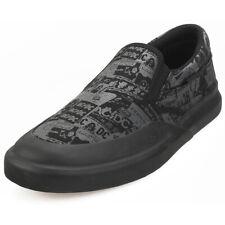 DC Shoes Infinite Slp AC/DC Hombres Black Textil Zapatos sin Cordones