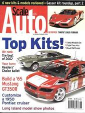 Scale Auto Enthusiast June 2003 Gasser Racing Shelby Mustang GT350R Pontiac