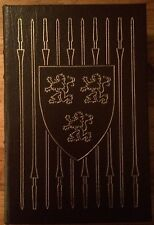 Ivanhoe by Sir Walter Scott (LEATHER-BOUND hardcover, Easton Press)