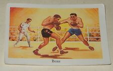 Ancienne Image du type Bon Point : BOXE - Sport EDITIONS EDUCATIVES