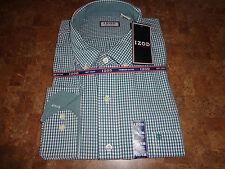 IZOD men's NWT sz XXL green/white Mediterranean LS button up w/collar cotton top