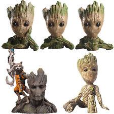 Guardians of The Galaxy Baby Groot Figure Figurine Flowerpot Pen Flower Pot Toys