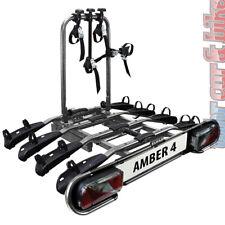Eufab Amber 4 Heckträger Fahrradträger PKW AHK Anhängerkupplung für 4 Fahrräder
