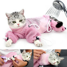 Pet Cat Grooming Washing Mesh Bathing Bag Restraint Cats Nail Clipping Cleaning