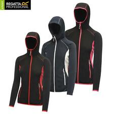 Regatta Womens Seoul Hooded Full Zip Fleece Hoodie Fitted Jacket Ladies Running