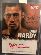 Dan Hardy Ufc Topps 2010 Red Ink Autograph 14/15