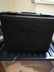 Games Workshop 3-Tier Army CARRY CASE Holder Citadel Warhammer or 40K K
