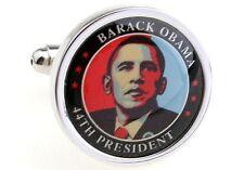 President Barack Obama USA Mens Cufflinks