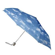 Señoras Minimax Supermini Paraguas Plegable Manual Resistente al viento-nubes