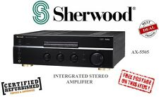 Sherwood AX-5505 2 Channel High Performance Integrated Stereo Amplifier w/ Phono