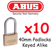 25 mm solid brass padlock. Hardened steel shackle with Nano-Protect™ x10 Locks !