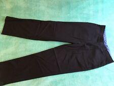 Izod Boys Pants Flat Sz 18 Navy Blue Used Very Good Condition