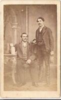 Ign. Resch CDV photo Feine Herren mit Bier - um 1870