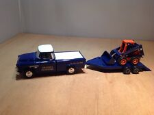 CHESTER'S EXCAVATING CHEVY '55 PICKUP w/ BUCKET LOADER - ERTL F858