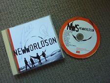 NEWWORLDSON SELF TITLED ULTRA RARE AUTOGRAPHED CD!