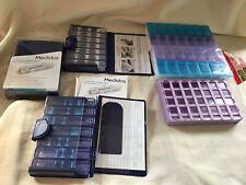 Tablet Pill Box Medication Organiser Tray , Dispenser, Job Lot.