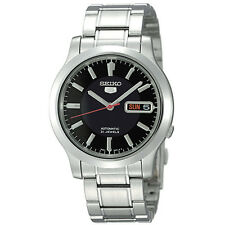 Seiko Men's SNK795 Seiko 5 Automatic Stainless Steel Watch with Black Dial