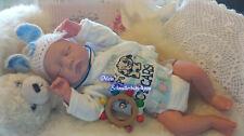 ♥Reborn Reallife Baby Boy von U.L Krautter Babypuppe Puppe Geschenk♥