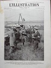 L' ILLUSTRATION 1924 N 4244 LE PRINCE CAROL DE ROUMANIE AVIATEUR, ARRIVE A MELUN