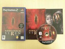 Sony Playstation 2 Game * FORBIDDEN SIREN * Complete PS2 Retro Rare 10423