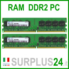 SAMSUNG RAM 4Gb (2x2Gb) PC2-6400U DDR2-800Mhz 240pin Memoria x DESKTOP No Ecc