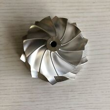 GT3582R GEN ll 65.70/82.46mm10+0 blades point milling billet compressor wheel