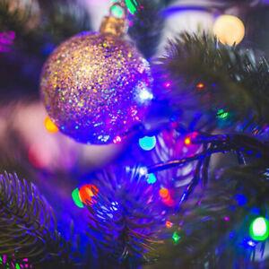 12M 100 LED Outdoor Solar Power String Light Garden Christmas Fairy Xmas Decor
