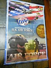 Miller Lite Poster Honoring The U.S. Air Force 2003