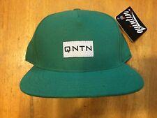 Quintin Gear BMX Bike Hat - Adjustable Cap - Baseball Made in USA - Green