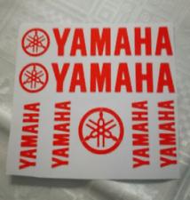 MAXI KIT YAMAHA Stickers Autocollants Adhésifs Moto Scooter Haute Qualité ROUGE