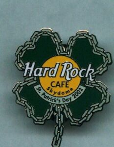 Hard Rock Closed Toronto Skydome St. Patrick's Day 2002 pin
