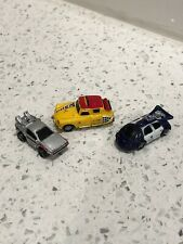 Vintage Funrise Micro Machines Back To The Future II Cars Police DeLorean Taxi