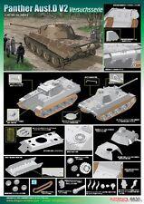 1/35 Dragon German Panther Ausf.D V2 Versuchsserie (Smart Kit) #6830