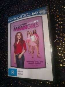 MeanGirls dvd plantinum Collection special collectors edition staring Lindsay Lo