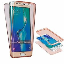 Ultra Thin Shockproof 360° Protective Front and Back Tpu Silicon Gel Case Cover