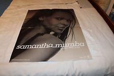 Samantha Mumba Promo Poster-GOTTA TELL YOU