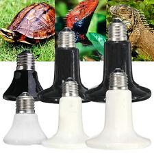 25W-250W Ceramic Infrared Heat Emitter E27 Lamp Light Bulb for Reptile Pet 110V