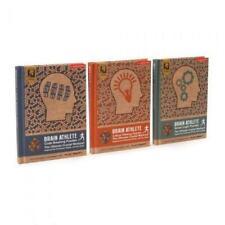 Rubik's Brain Athlete Puzzle Books Mind Training Logical Thinking Challenges