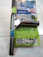 "Unger 92101 Stainless Steel Window Squeegee, 12"", ship any US Territory free"